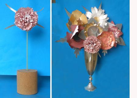 Card Gallery - Pink Carnation - 3D Paper Flower