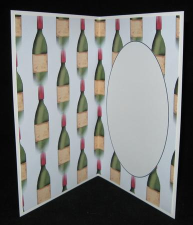 Card Gallery - Wine bottle insert 1