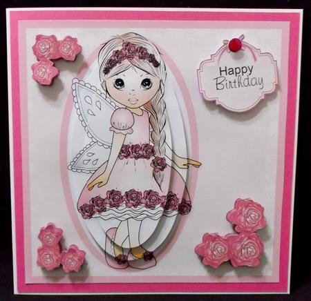 Latest Upload - Fairy Evie Topper Mini Kit