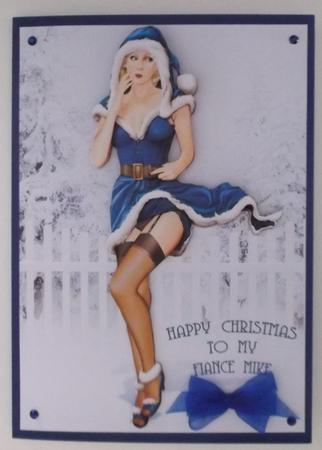 Latest Upload - 1950's Eva Grace Winter Wonderland (Blue/Blonde)