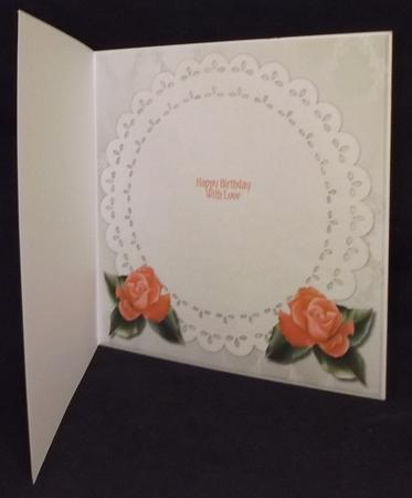 Insert Bouquet of Roses in Card Gallery