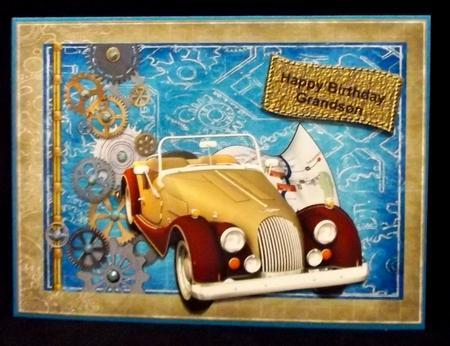 Steampunk Road Trip in Card Gallery