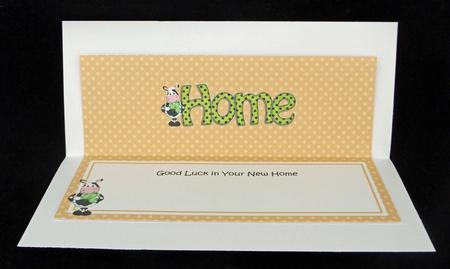 Large Dl New Home Matching Large Dl Insert in Card Gallery