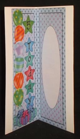 Birthday Insert 7 in Card Gallery