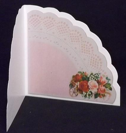 Triangle Scallop with Wheelbarrow Insert in Card Gallery