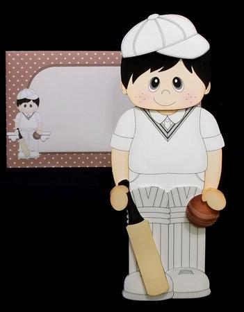 3D on the Shelf Card Kit - Cricket Boy Toby in Card Gallery
