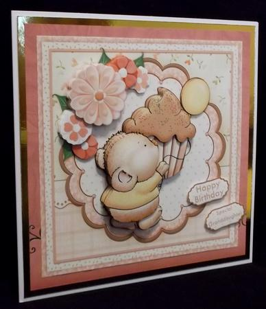 Sprinkles Mouse & Cupcake 8x8 Mini Kit & Decoupage in Card Gallery