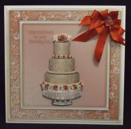 Designer Resource Wedding Cakes Set 1 in Card Gallery