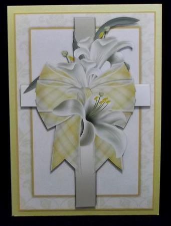 Beautiful Floral Sympathy Card Front in Card Gallery