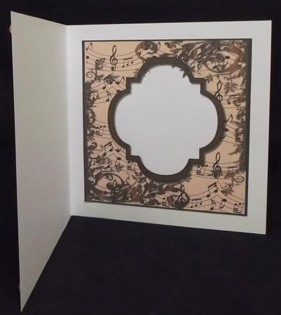 Romantic Roses Insert in Card Gallery