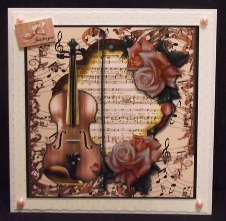 Romantic Music - in Card Gallery