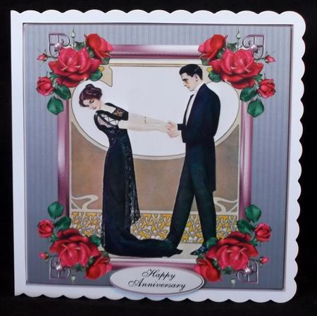First Dance Anniversary Topper Set in Card Gallery