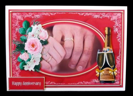 Champagne & Roses in Card Gallery