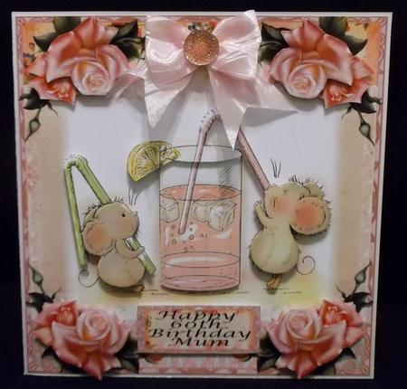 Drinky Time for Two Card Front Kit in Card Gallery