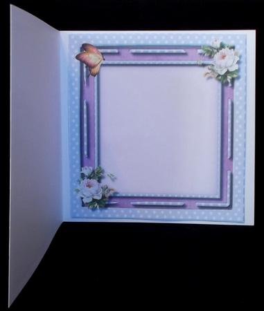 Incert with Lilac Polka Dots , in Card Gallery