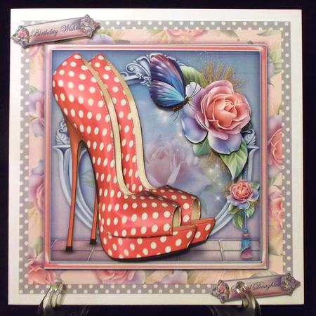 The Eccentric Pink Shoes in Card Gallery