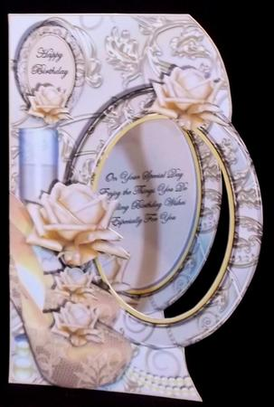 Perfect Pearls - Shaped Topper, Insert & Decoupage in Card Gallery