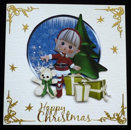 Card Gallery - Santas little helpers 1