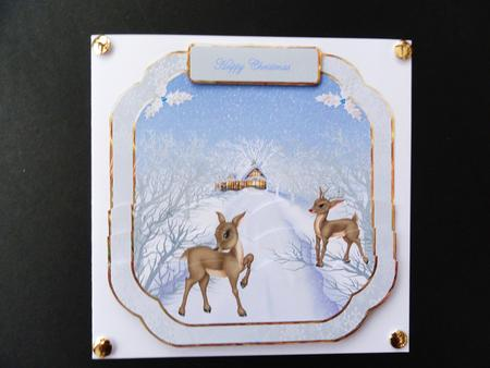 Card Gallery - Rudolf the reindeer has a girlfriend