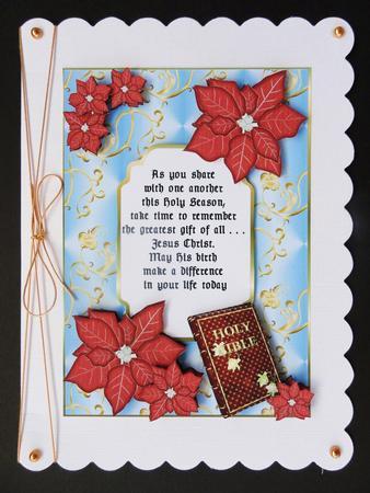 Card Gallery - Christmas Verse Card 1 - Religious