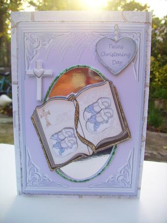 Card Gallery - twin boys christening