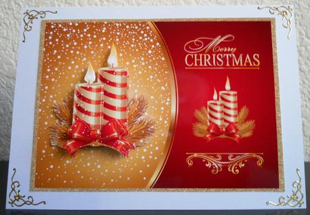 Card Gallery - Christmas Candles