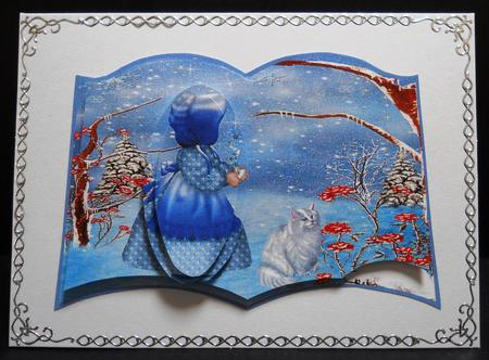 Card Gallery - winter sunbonnet sue