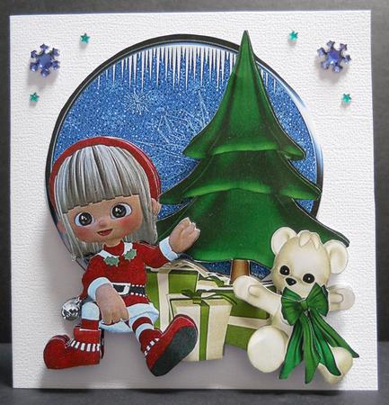 Card Gallery - Santas little helpers 2