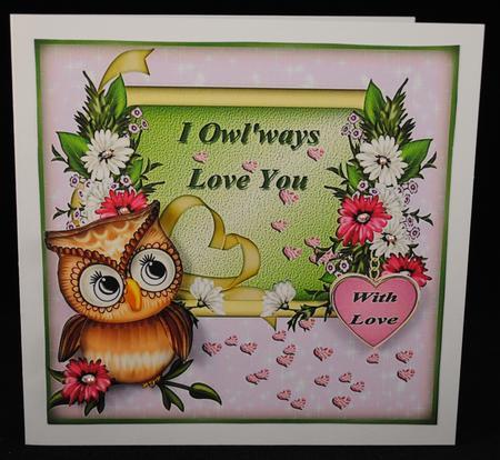 Card Gallery - I Owl'ways Love you SBS