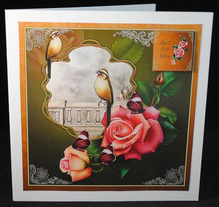 Card Gallery - Birds,Roses and Butterflies