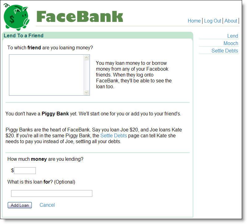 Facebank_lend