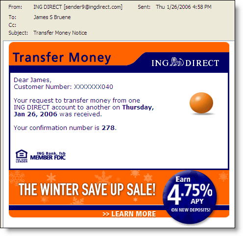 Ingdirect_personalized_alert