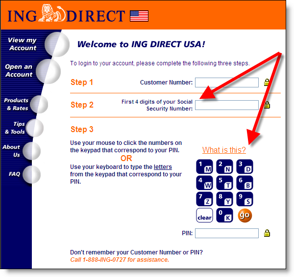 ing direct 360 login