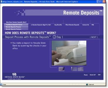 the introduction of remote deposit capture to blue banks security system More formally known among bankers as remote deposit capture bank when funds from a remote check deposit deposit have your paycheck, social security.