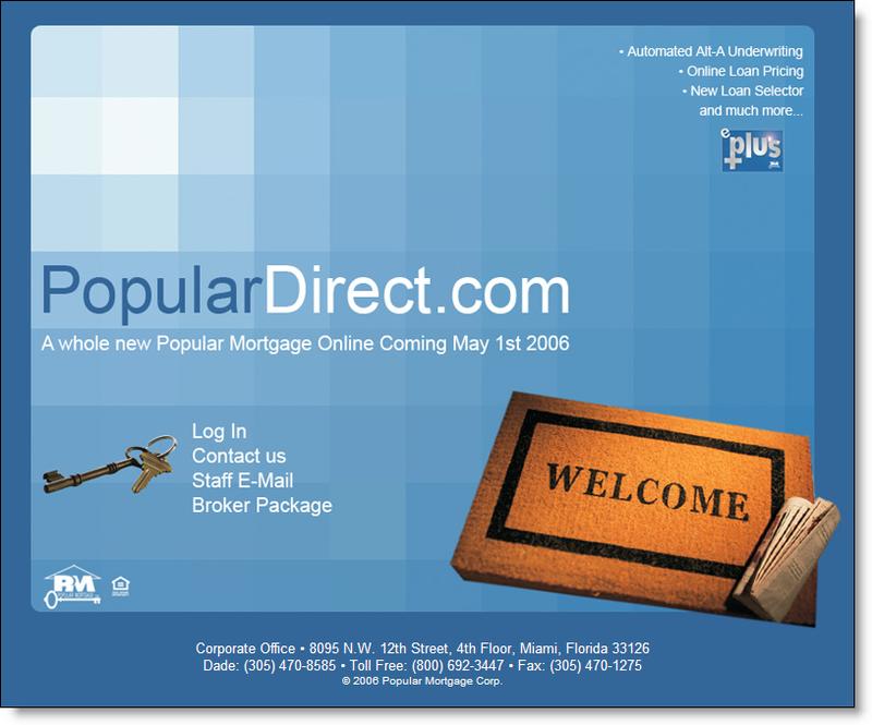 Populardirect_website