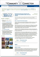 SELCO Credit Union's My Community Connection CLICK TO ENLARGE