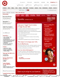 Automatic bill pay description at Target.com CLICK TO ENLARGE