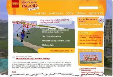 Wells Fargo Stagecoach Island blog