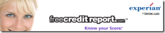 Link to Freecreditreport.com by Experian