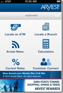 Arvest iphone app v2.0