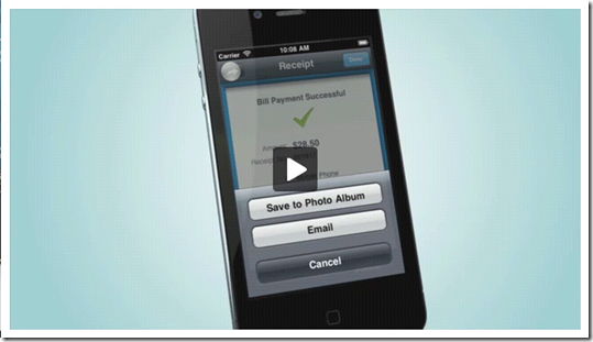 Demo video of ANZ goBanking iPhone app