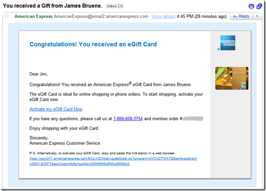 Creditdebit cards archives page 6 of 15 finovate email to recipient of american express egift card negle Gallery
