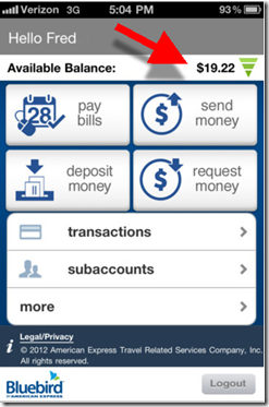 important payment features see inset billpay p2p payments request money mobile remote deposit - Prepaid Cards With Mobile Deposit