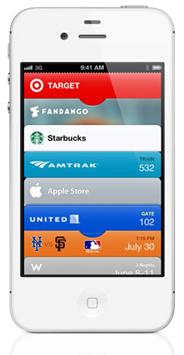iPhone Passbook app