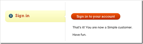 """Bank Simple invites new customer to login and """"have fun"""""""
