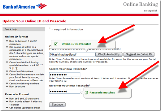 Bank Of America Finally Forces Username Change No More