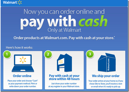 Walmart.com popup lays out how it works