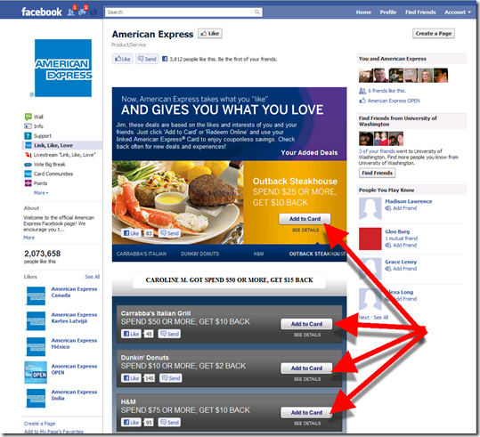 Step 5: Activate Amex offers with single click