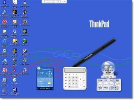 Desktop showing Google Gadgets CLICK FOR CLOSEUP