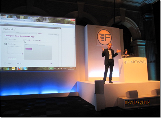 Ixaria CIO Tim Murfet & Marketing Dir Barbara Durand present at FinovateEurope 2012